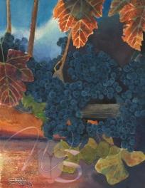 Concord Sunset - Original Watercolor