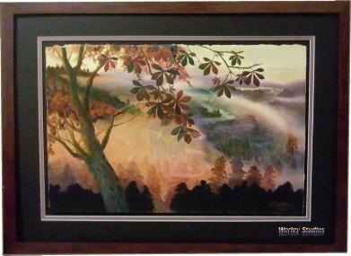 Misty Morning - Original Watercolor