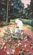 The Bird Lady of Golden Gate Park - Original Watercolor